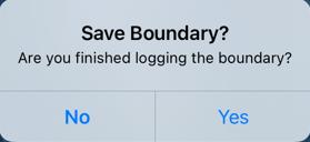 Save Boundary